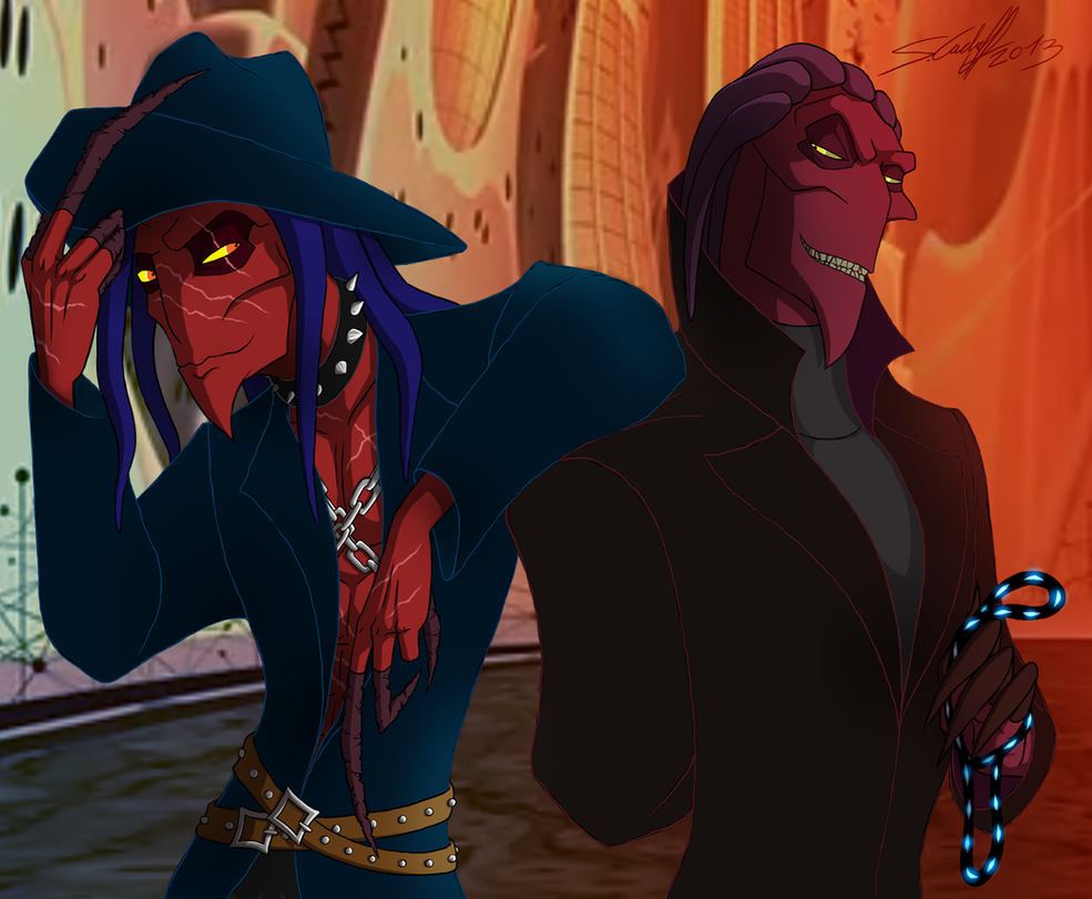 Blaine and Thrax by He...