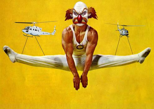 Clown Gymnastic