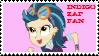 Indigo Zap Fan Stamp by SugaLawliet