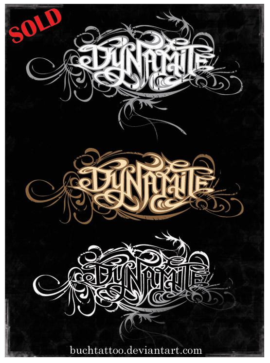 dynamite by buchtattoo on deviantart. Black Bedroom Furniture Sets. Home Design Ideas