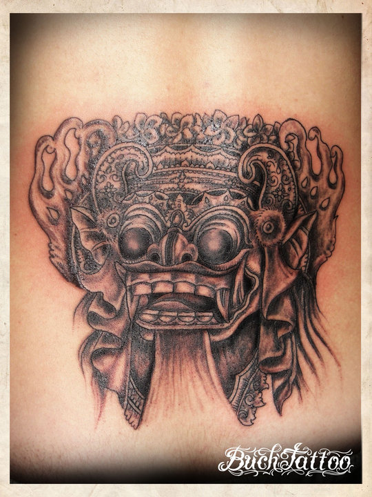 buch barong bali by buchtattoo on deviantart. Black Bedroom Furniture Sets. Home Design Ideas
