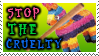 Pinata Cruelty Stamp by kyphoscoliosis