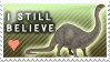 I Still Believe Stamp by kyphoscoliosis
