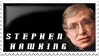 Stephen Hawking by kyphoscoliosis