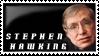 Stephen Hawking by kyphoscoliosis
