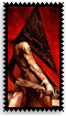 Pyramid Head Vertical Stamp by kyphoscoliosis