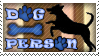 Dog Person stamp