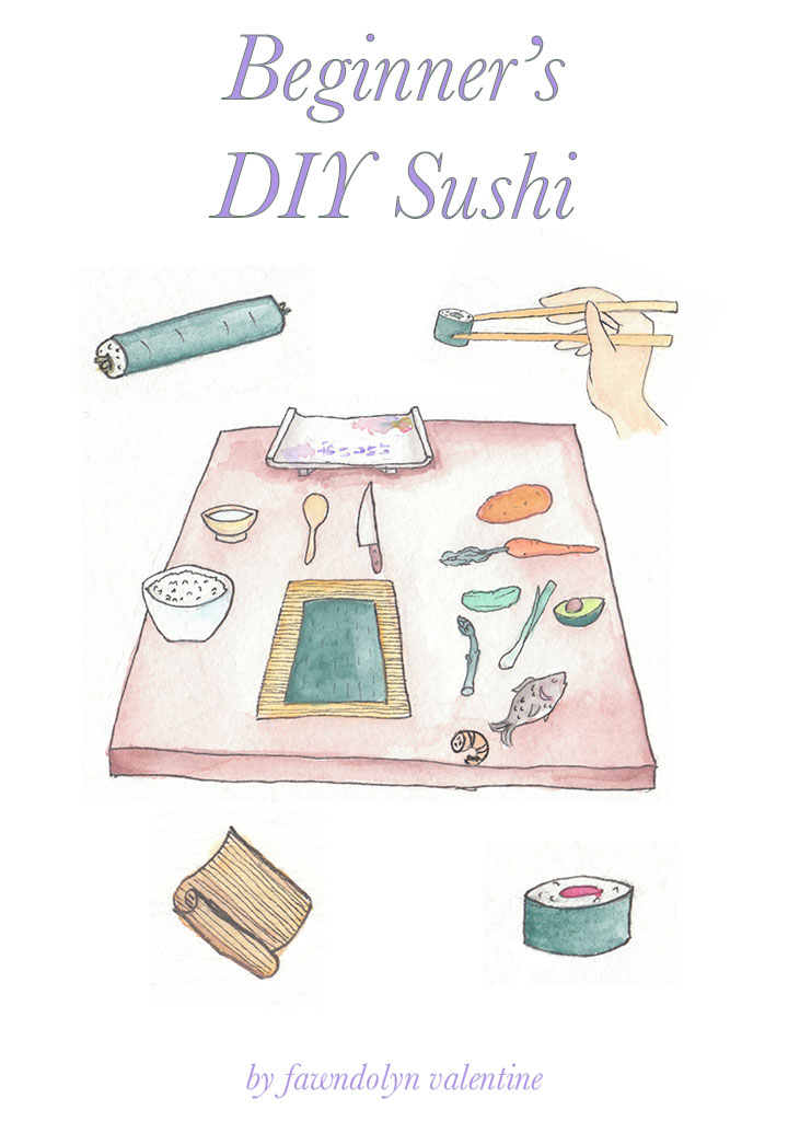 Beginner's DIY Sushi booklet! by diello
