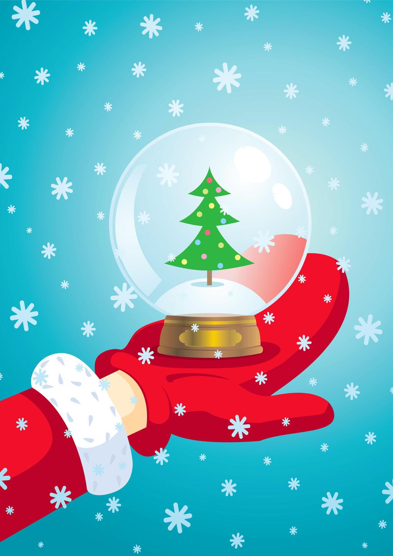 Santa Claus and snow ball by SIR13