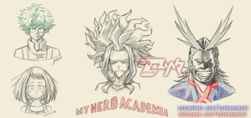 My Hero Academia by DzynrChakry