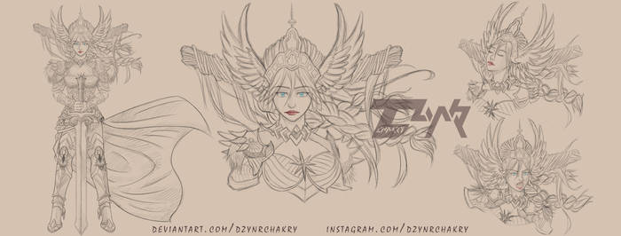 |CM|Brunhild by DzynrChakry