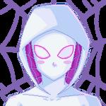 Blushing Spider  Pixel Icon 