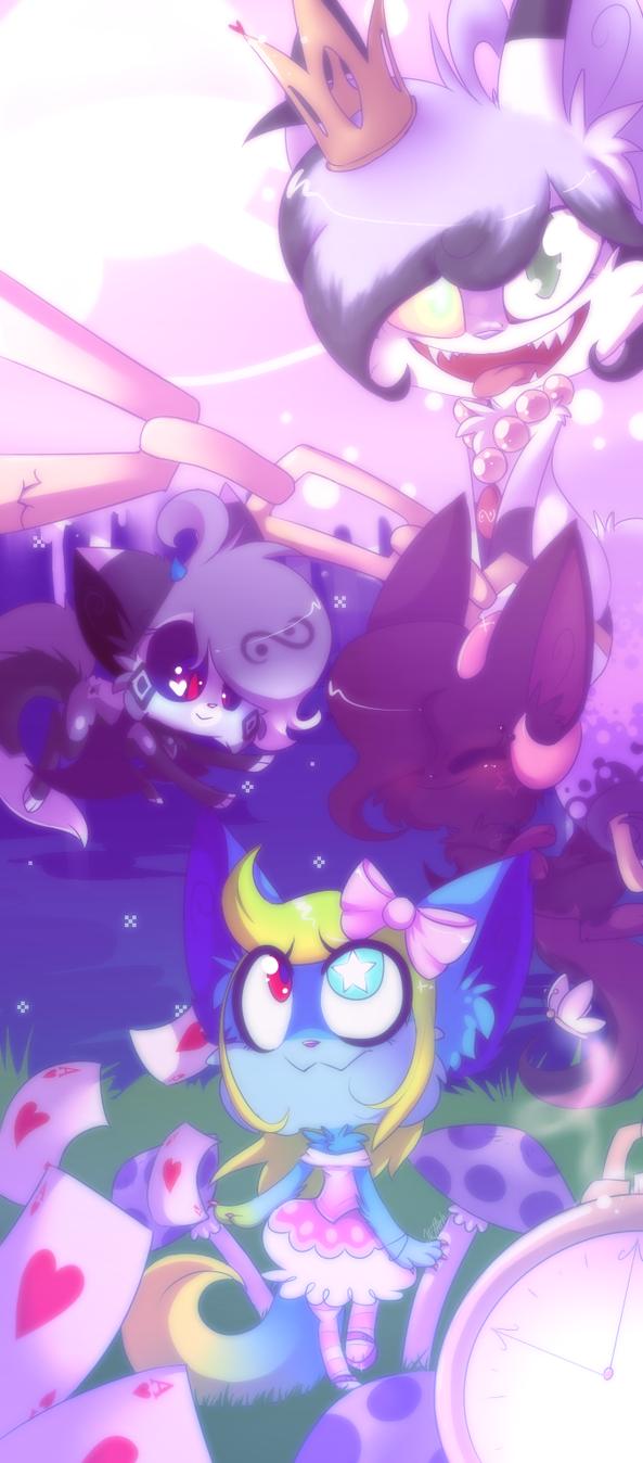 AVA - Alice in Wonderland by vaporeonSHIT