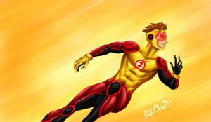 Bart Kid Flash Allen