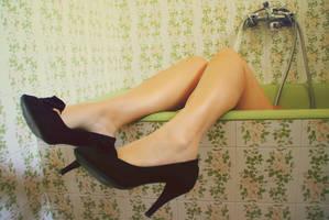 sunk legs by Nefeli6