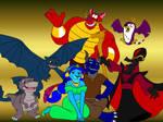The Cast of Tyler-Aladdin