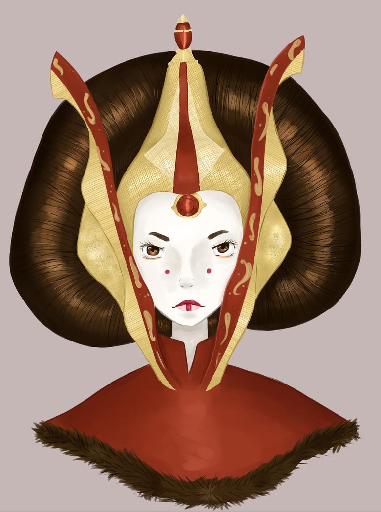 Queen Padme Amidala - Star Wars by Onlymykind