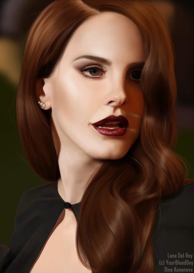 Lana Del Rey by DinaKononova