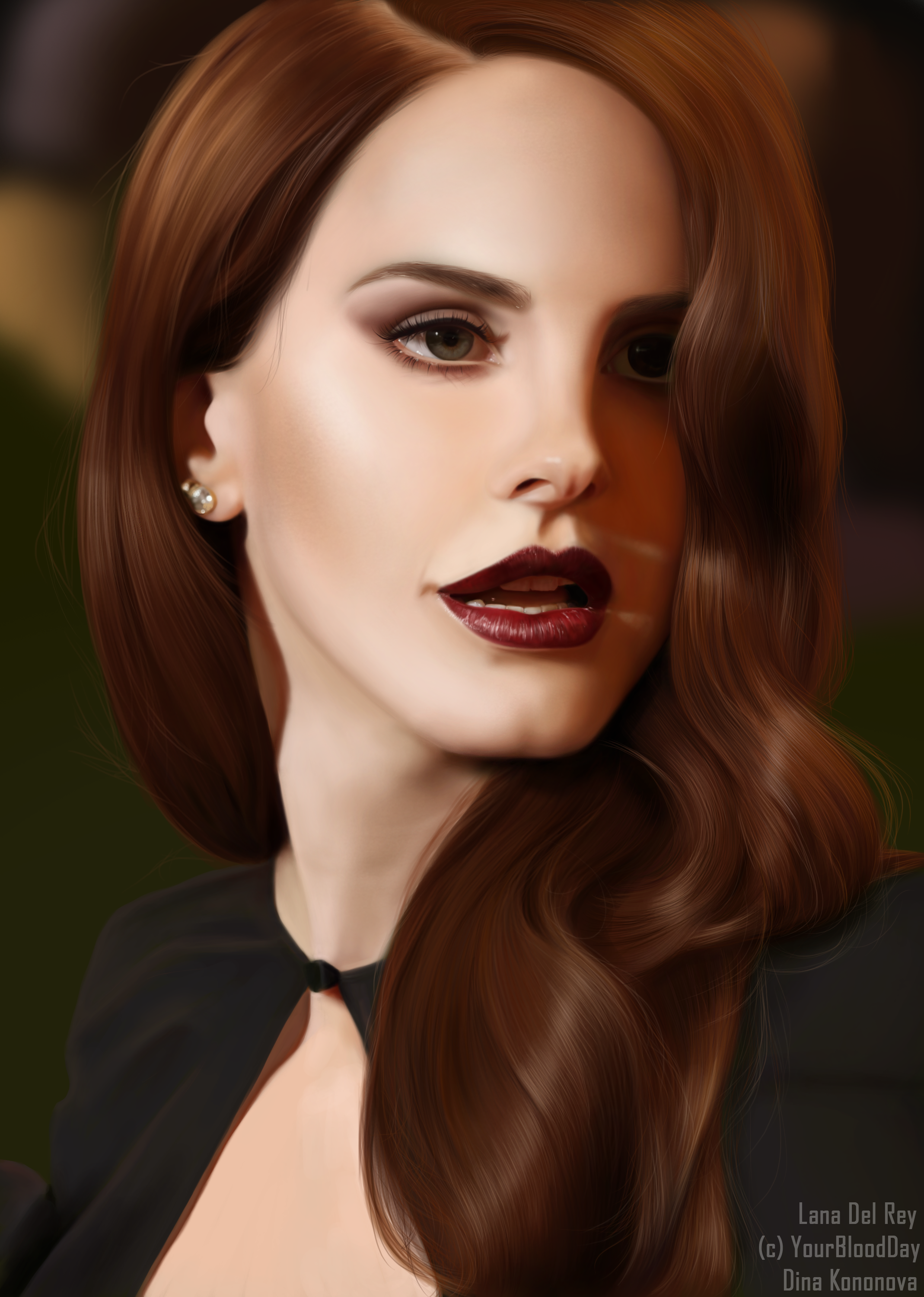 Lana Del Rey by YourBloodDay
