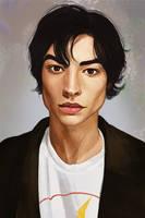 Ezra Miller by DinaKononova