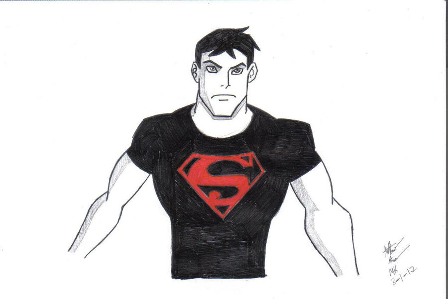 Young Justice Logo Young Justice Superboy
