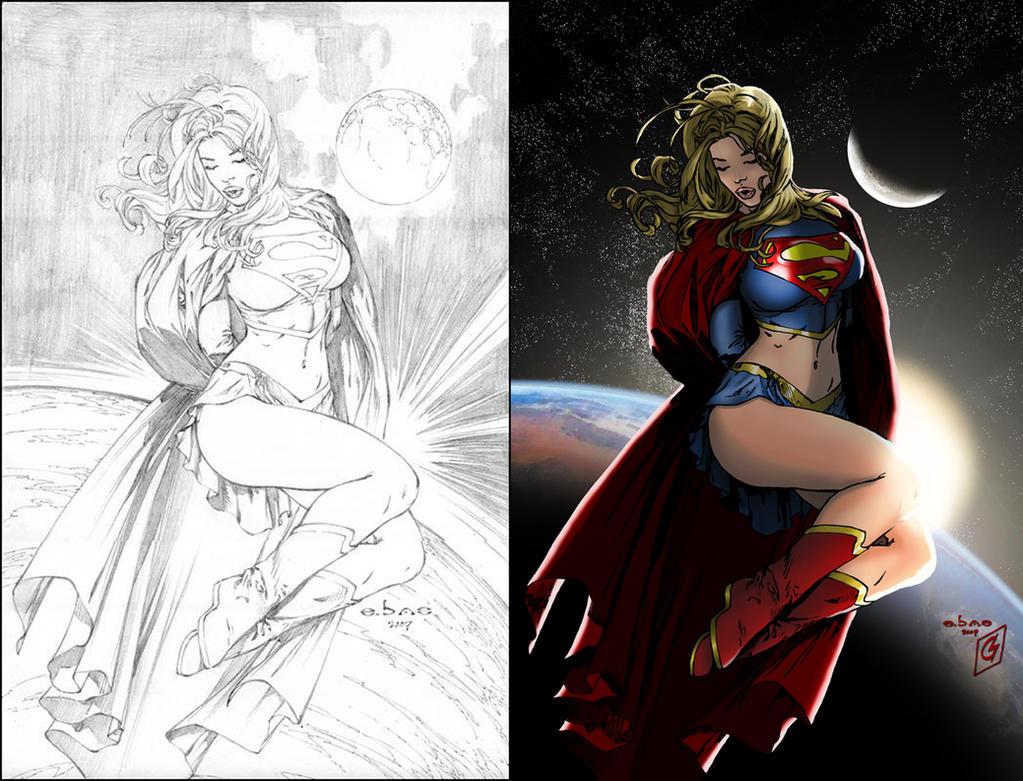 Supergirl - Sunrise by ChrisShields