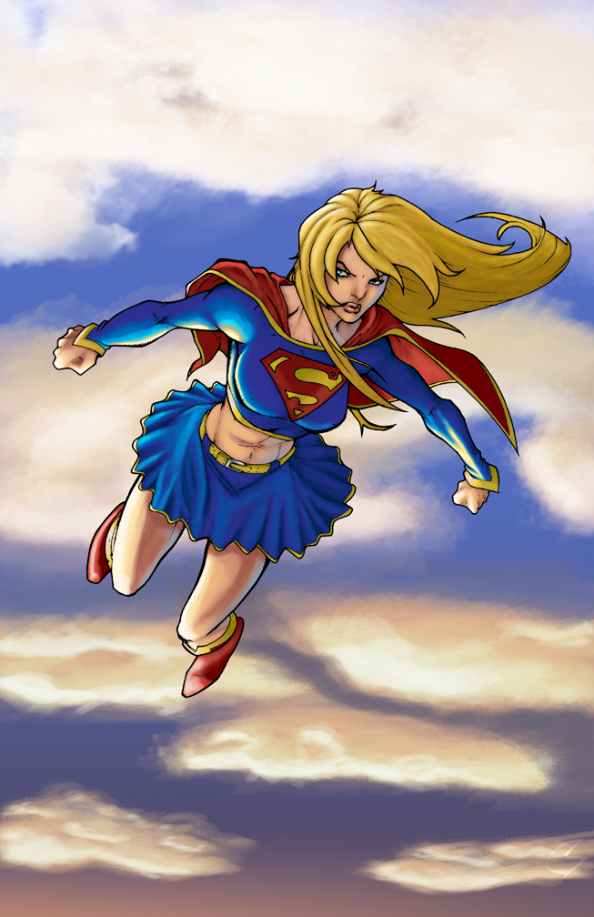Supergirl - Ray Anthony Height by ChrisShields
