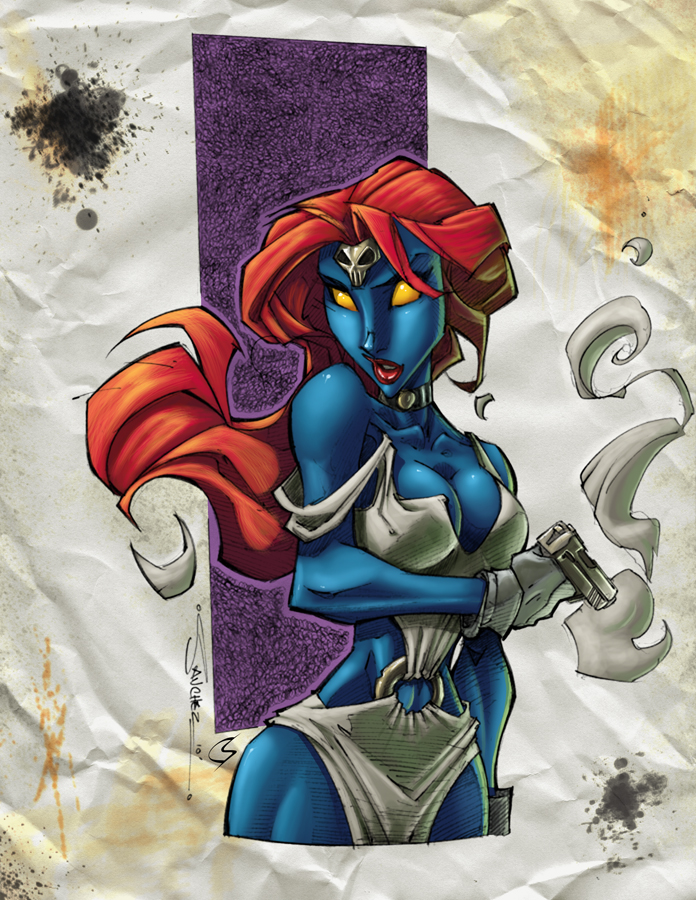 Mystique by ChrisShields