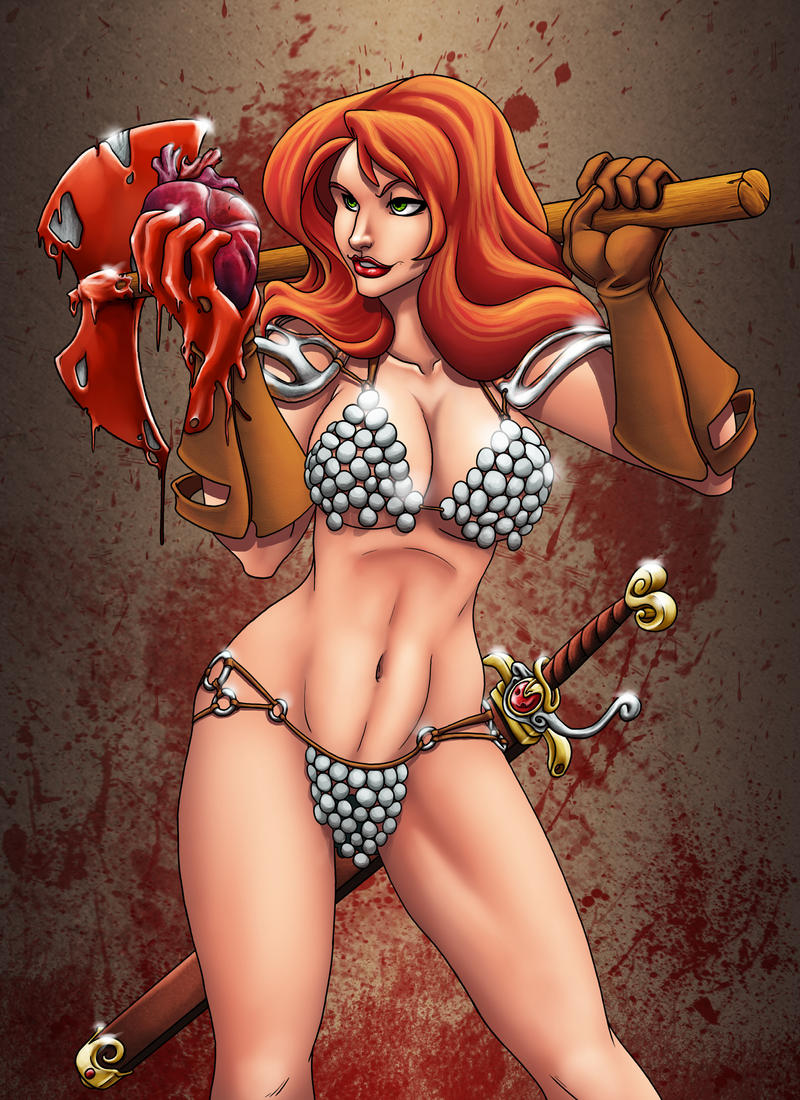 ANX's Heartbreaker Sonja by ChrisShields