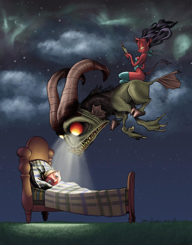 Nightmare by Chris Sanders by ChrisShields on DeviantArt