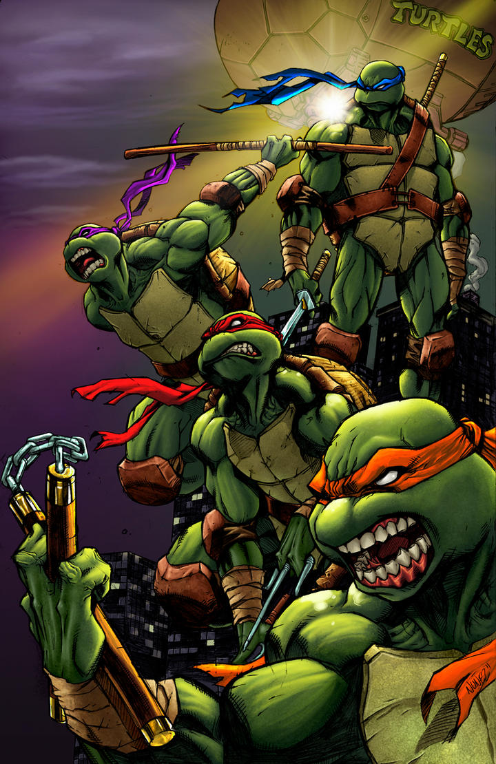 Teenage Mutant Ninja Turles by ChrisShields