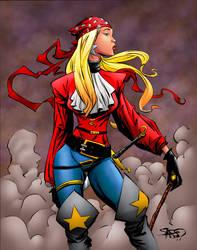 Pirate Wonder Girl
