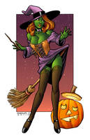 Halloween Witch by ChrisShields