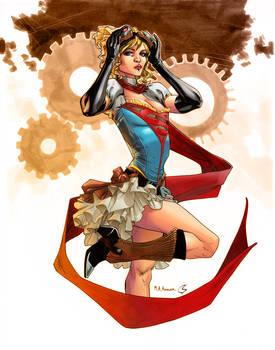 Steampunk Supergirl