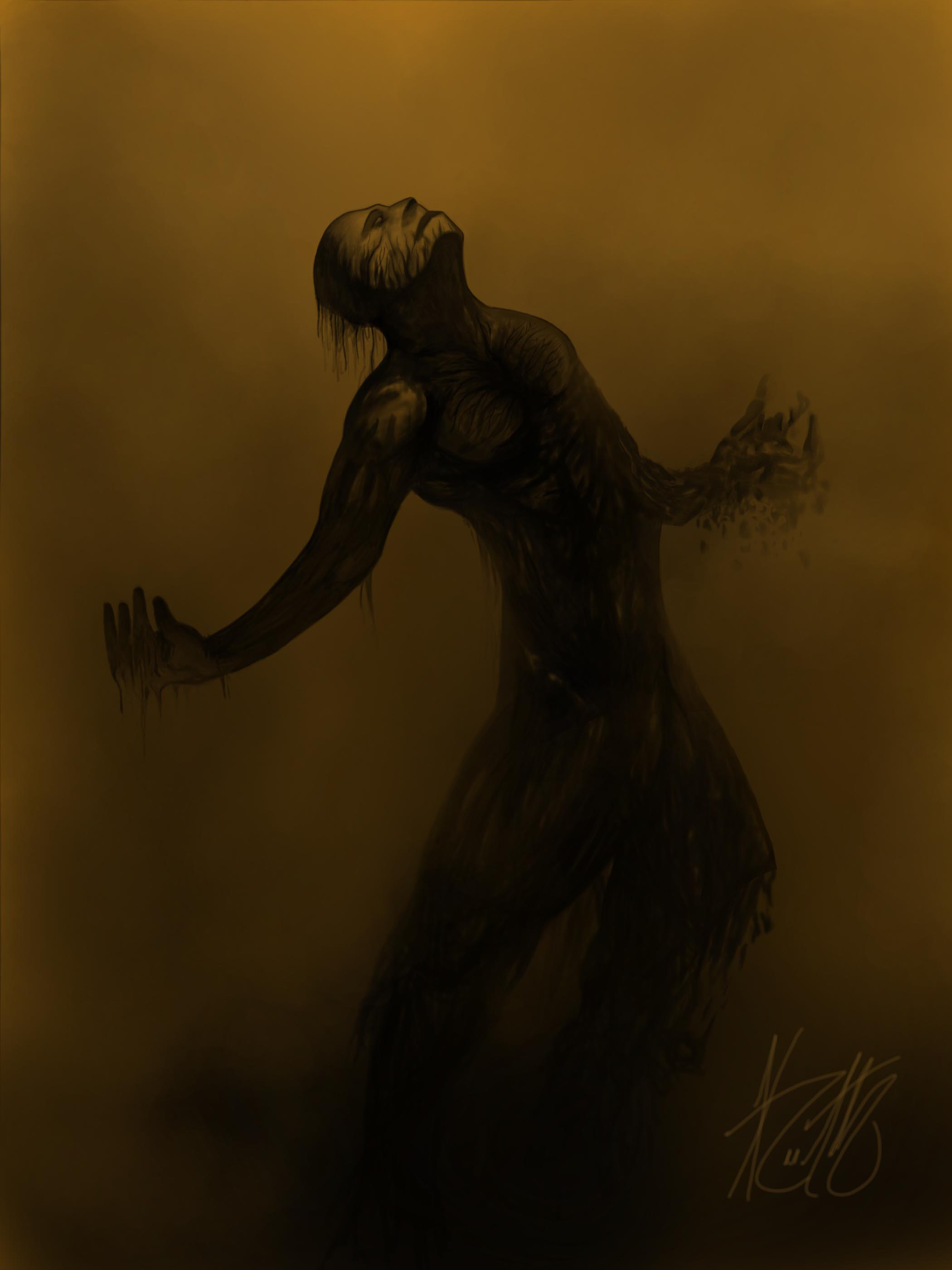 The Withered Man (WIP) by Keith-QuintanillA