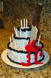 Sweeney Todd Cake by ChristyCat