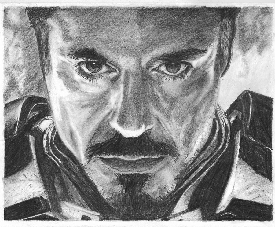 Robert Downey Jr. by bclara88