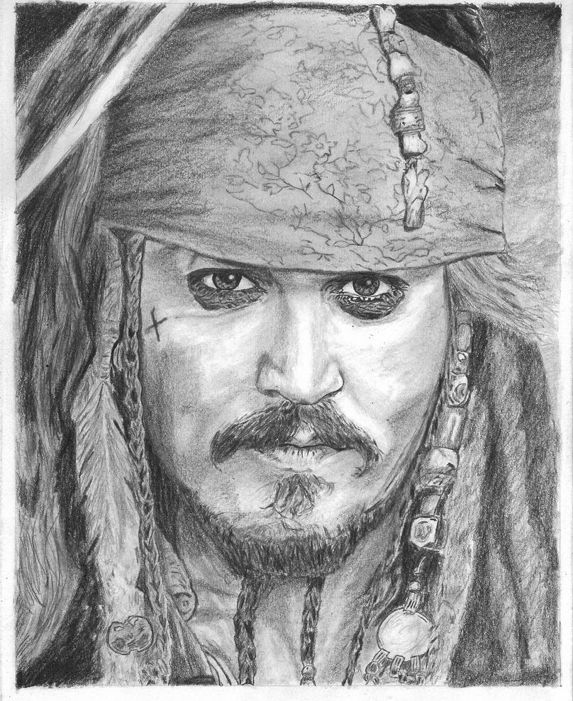 Jack sparrow johnny depp by bclara88
