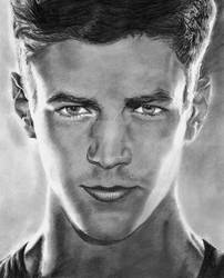 The Flash- Grant Gustin by bclara88