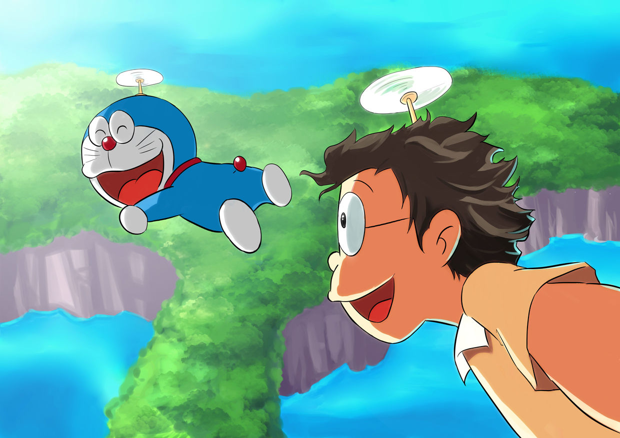 Doraemon By Mushi23 On DeviantArt
