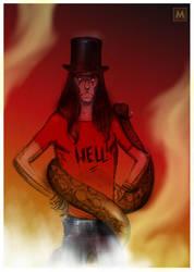Alice Cooper by gregmcevoy