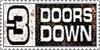 3 Doors Down Stamp by oxygenik