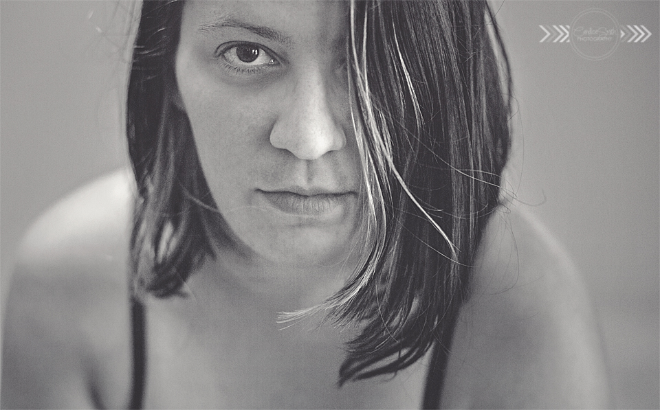 Self Portrait 04 BW by CandiceSmithPhoto