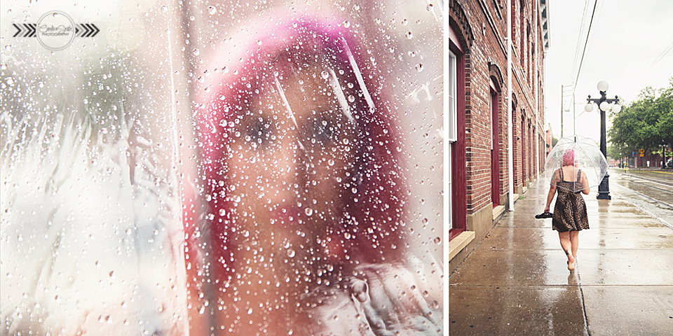 Playing in the Rain Collage by CandiceSmithPhoto