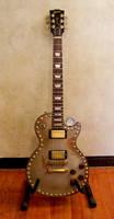 Steampunk Les Paul Guitar