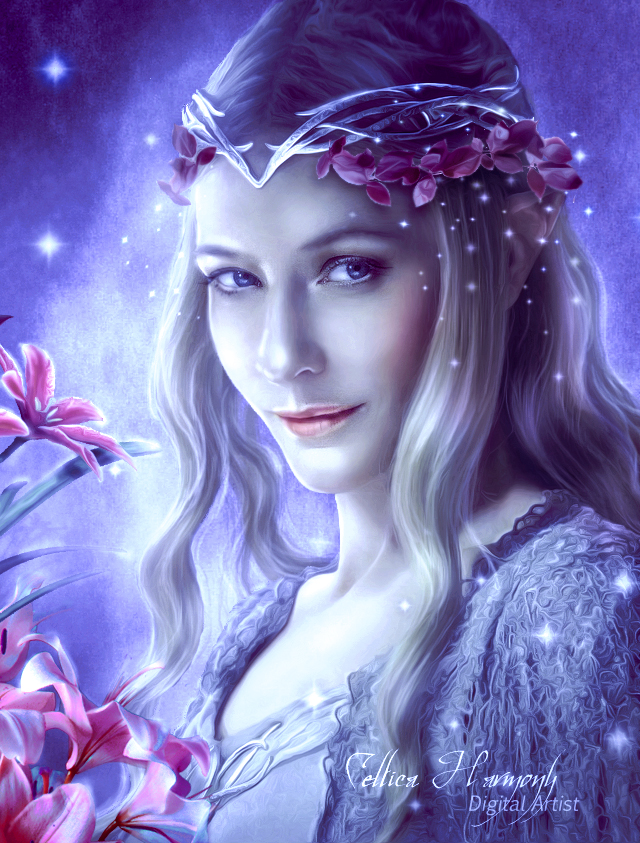 Galadriel - Queen of Light by Celtica-Harmony