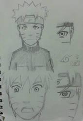 Naruto Sketch FA by Soaring21