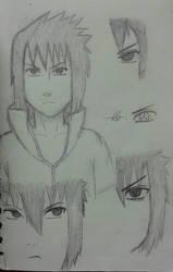 Sasuke Uchiha FA Sketch by Soaring21