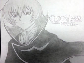 Code Geass Fan Art Lelouch