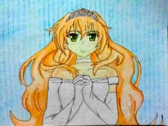 Koko Golden Time Fan Art by Soaring21